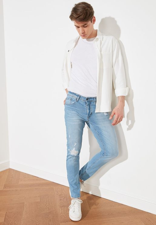 Normal Rise Skinny Fit Jeans