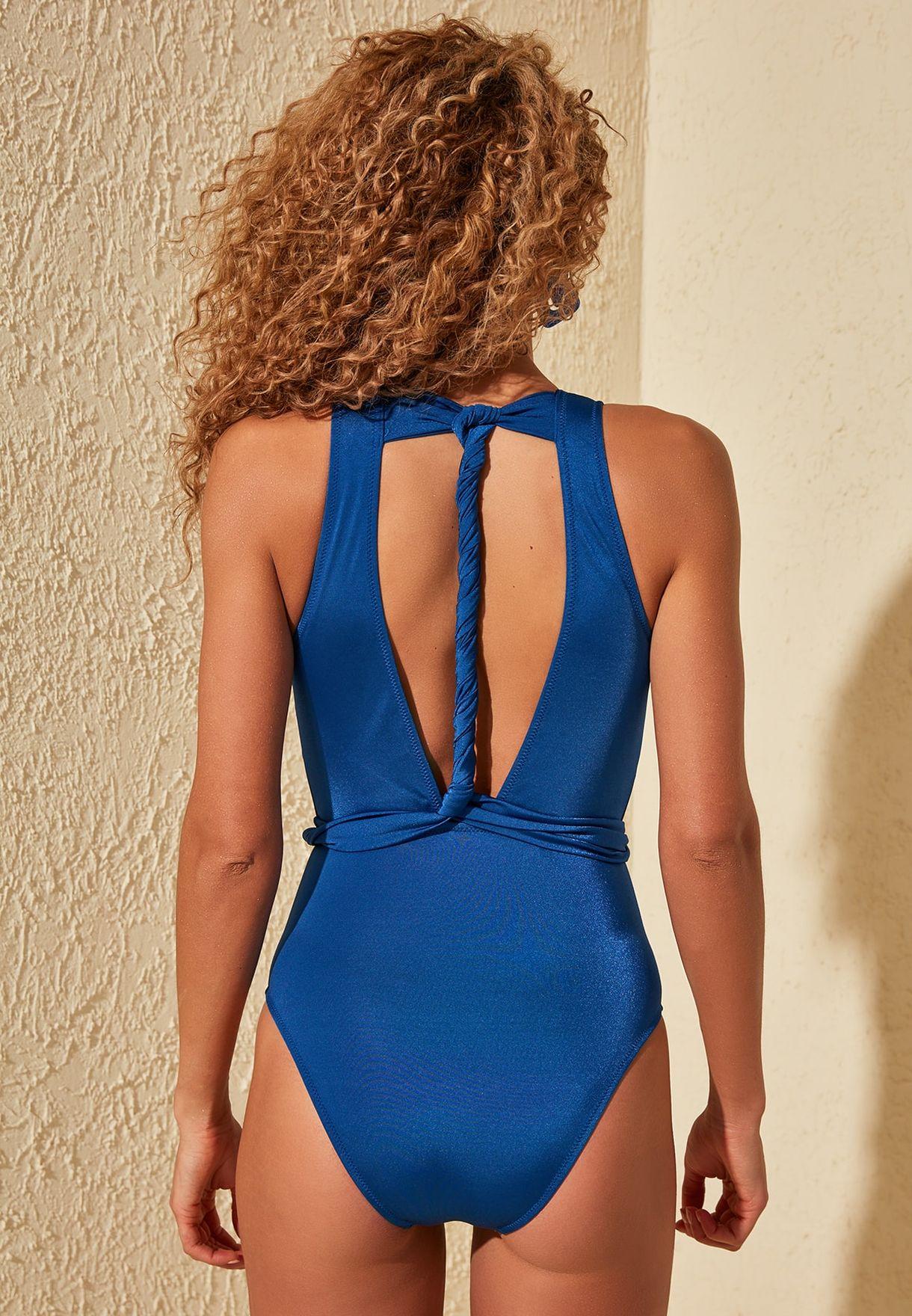 High Leg Plunge Swimsuit