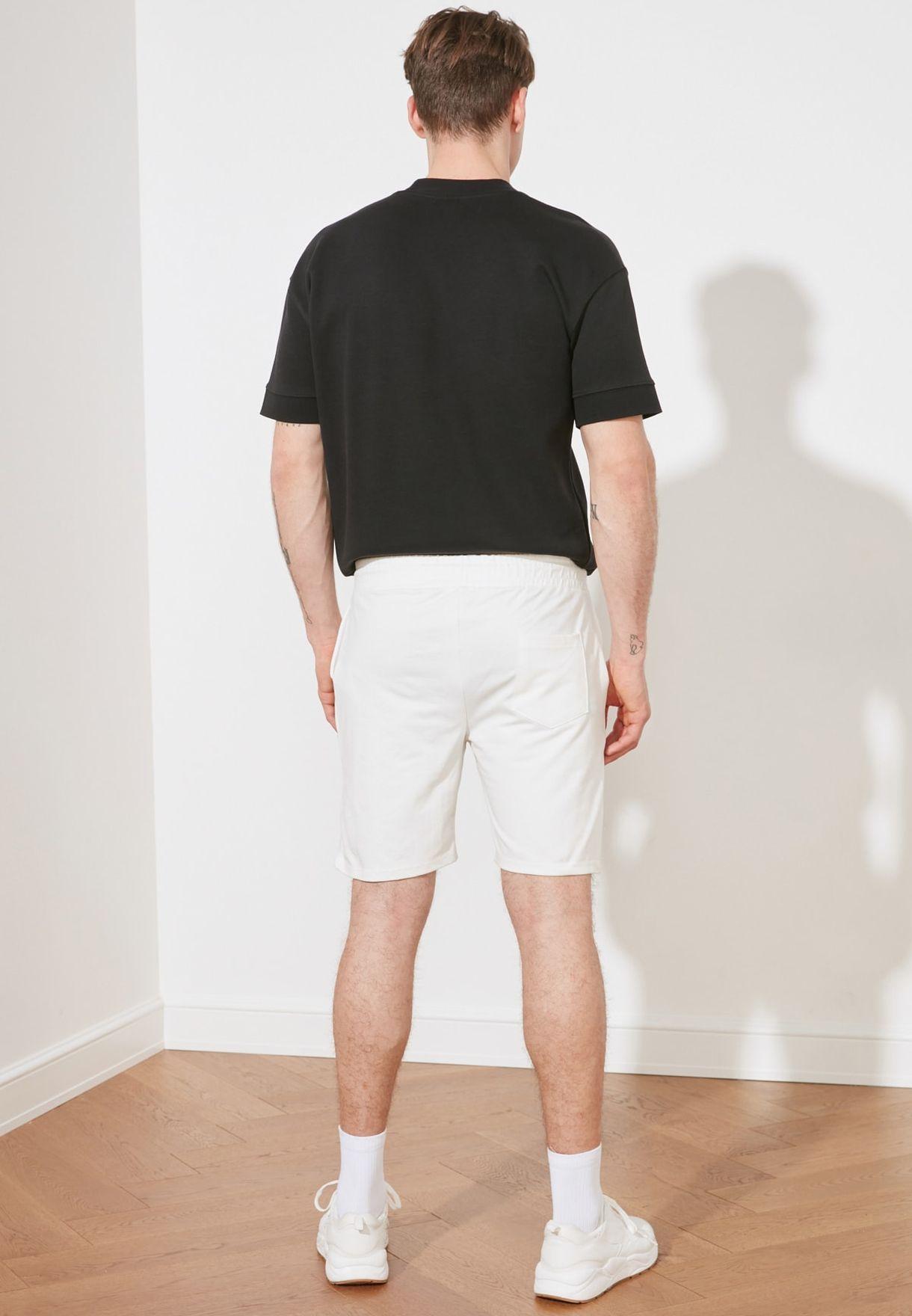 Stripe Detail Shorts