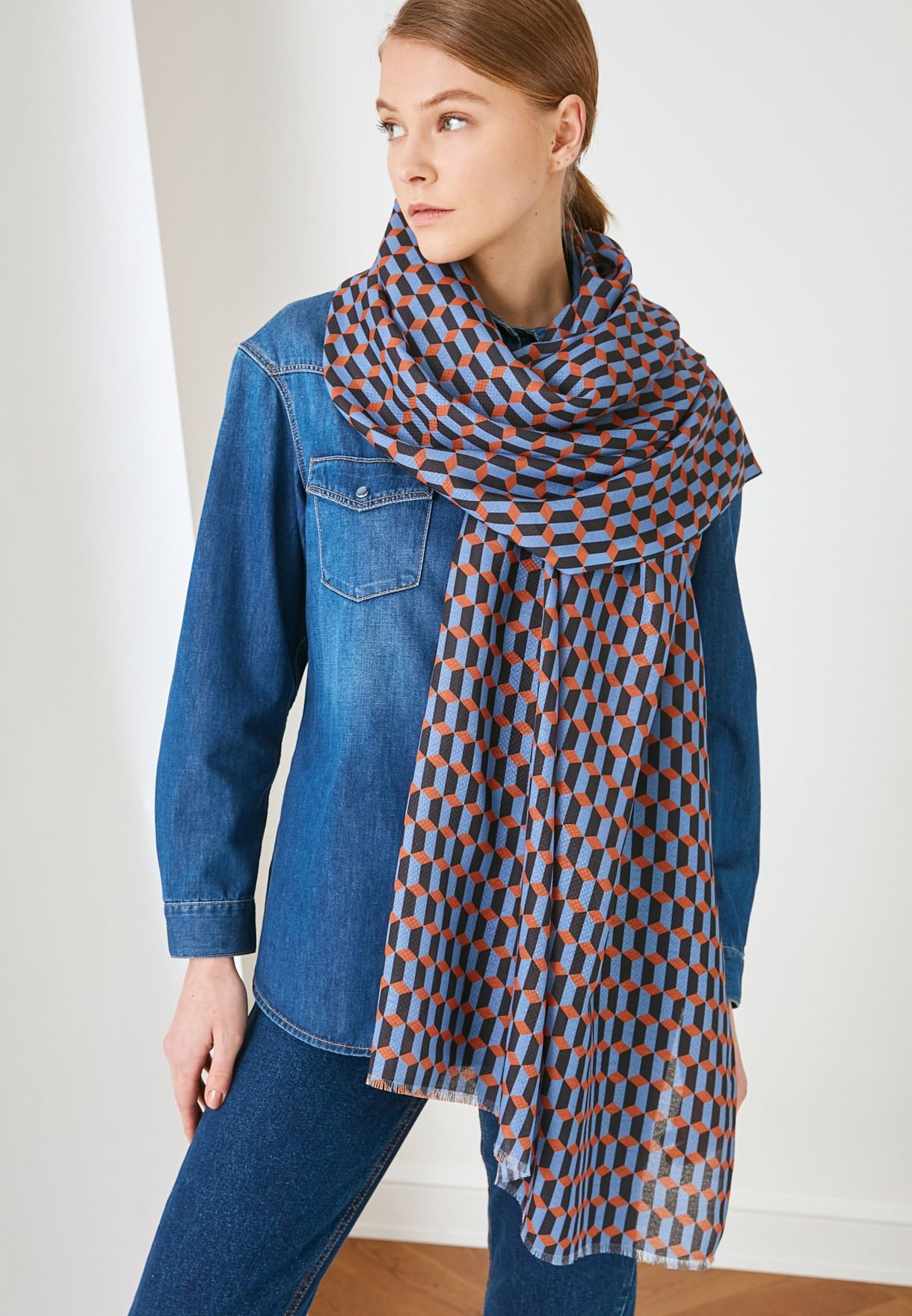 Casual Printed Scarf