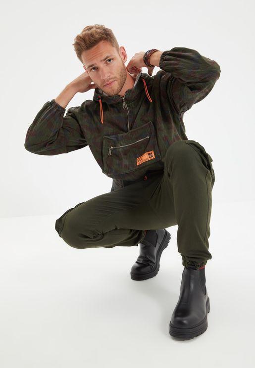Camo Oversize Jacket