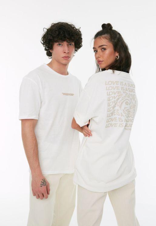 Essential Oversize Crew Neck T-Shirt