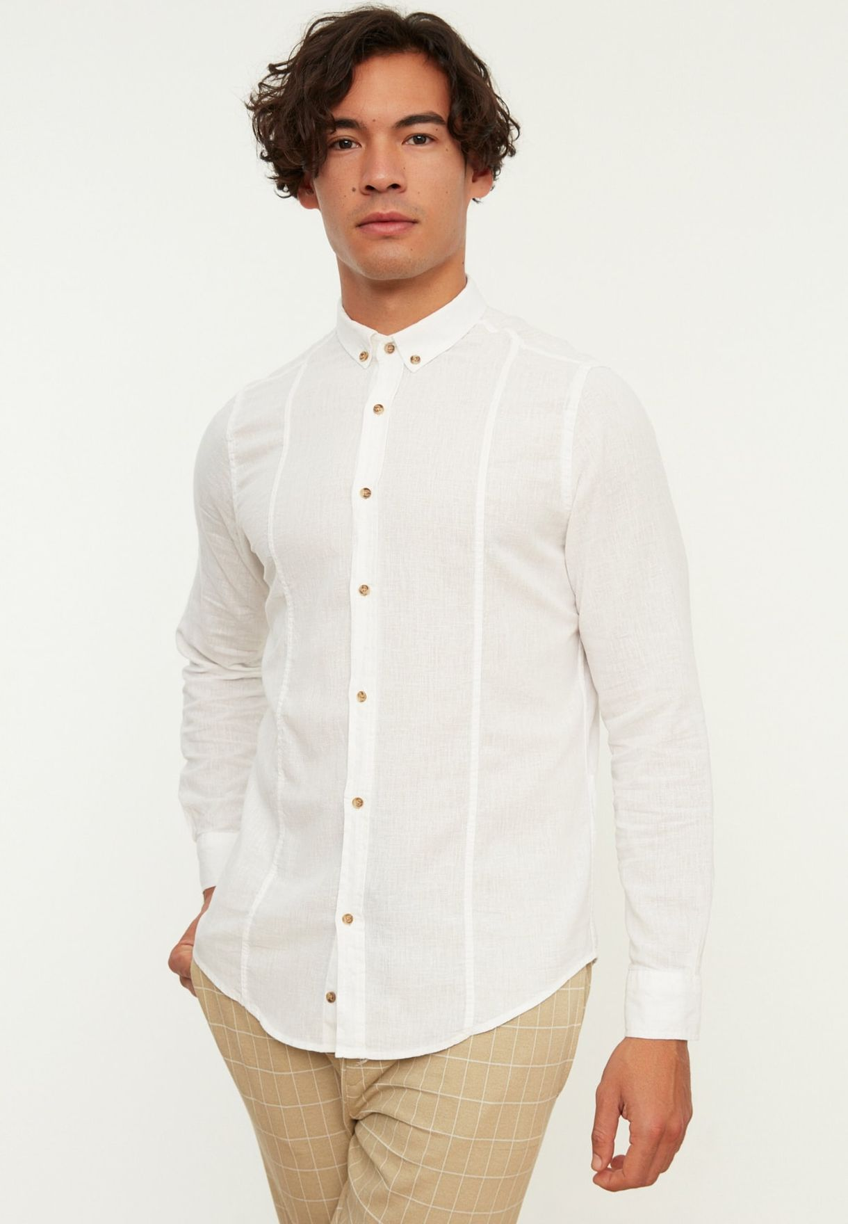 Button Down Regular Fit Shirt