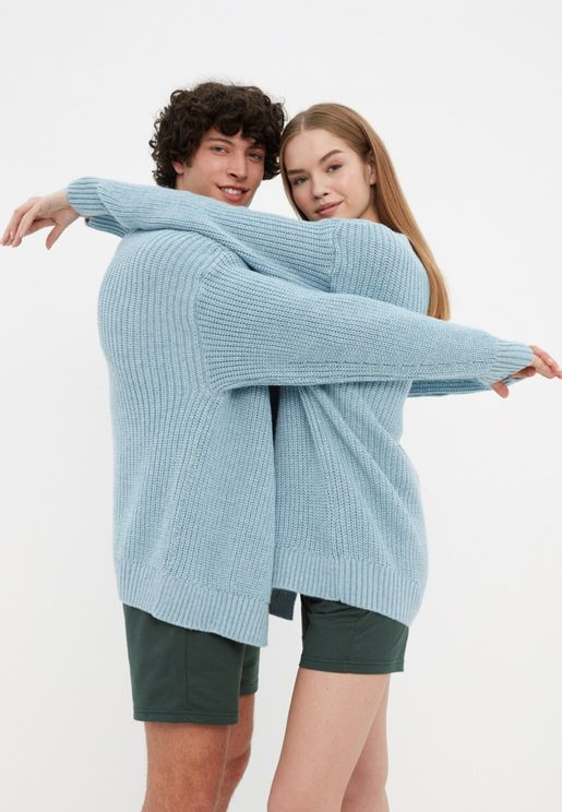 Knitted Oversize Cardigan