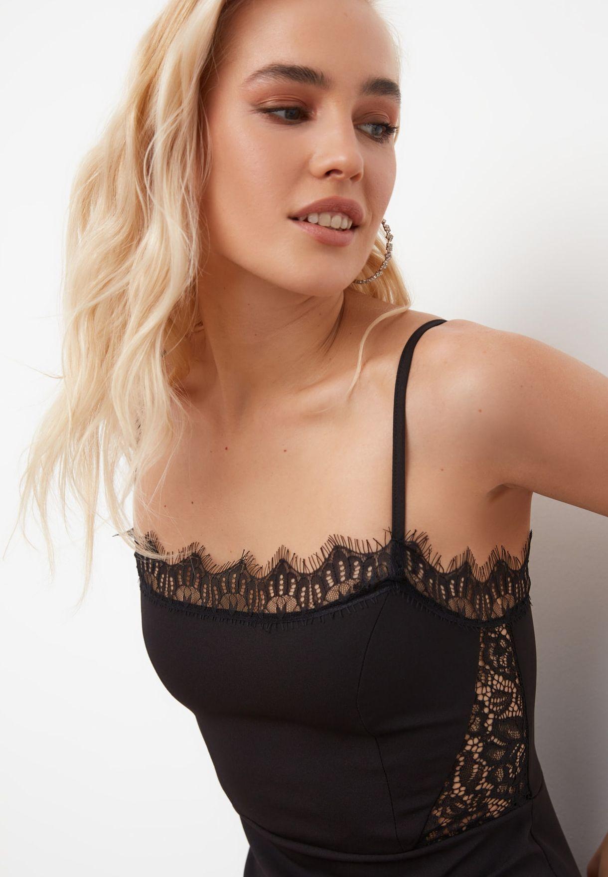 Lace Detail Dress