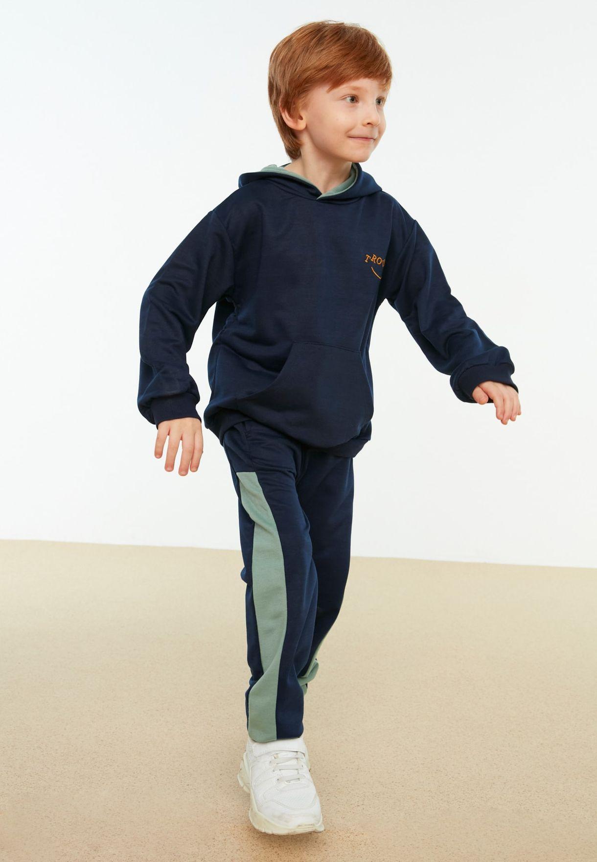 Kids Side Stripe Sweatpants