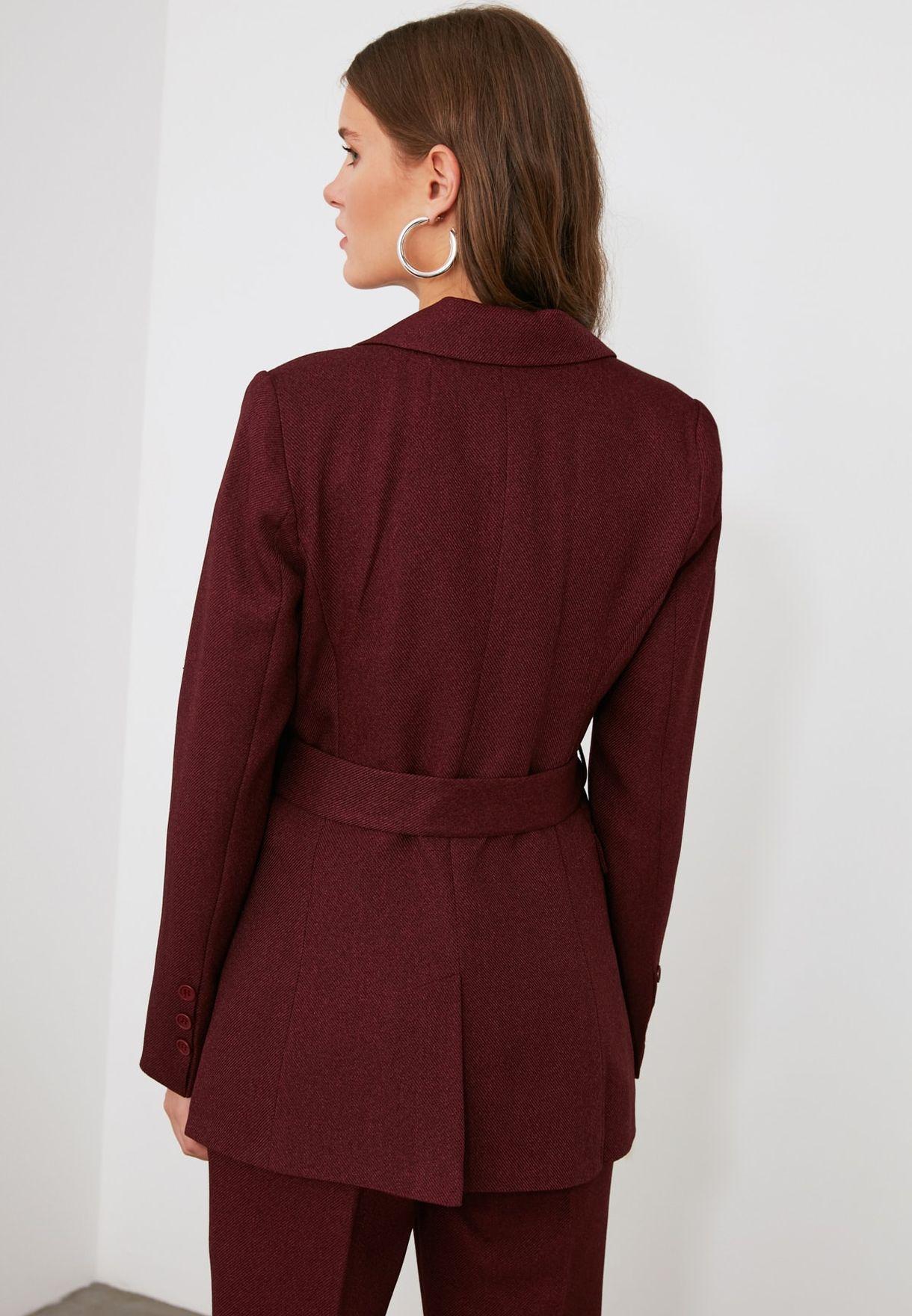 Pocket Detail Blazer