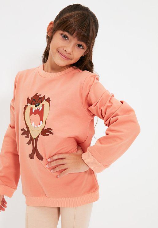 Kids Tasmanian Devil Sweatshirt