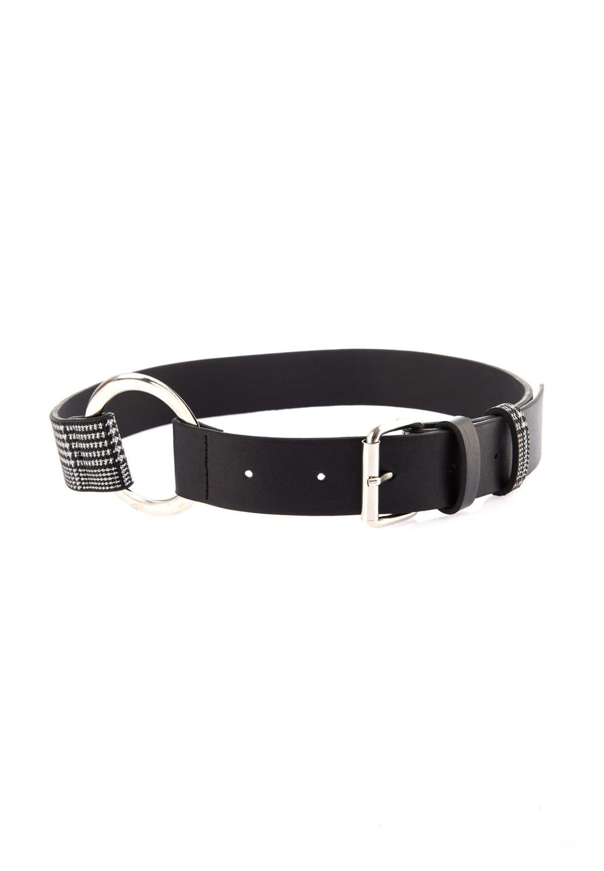 Double Buckle Long Belt
