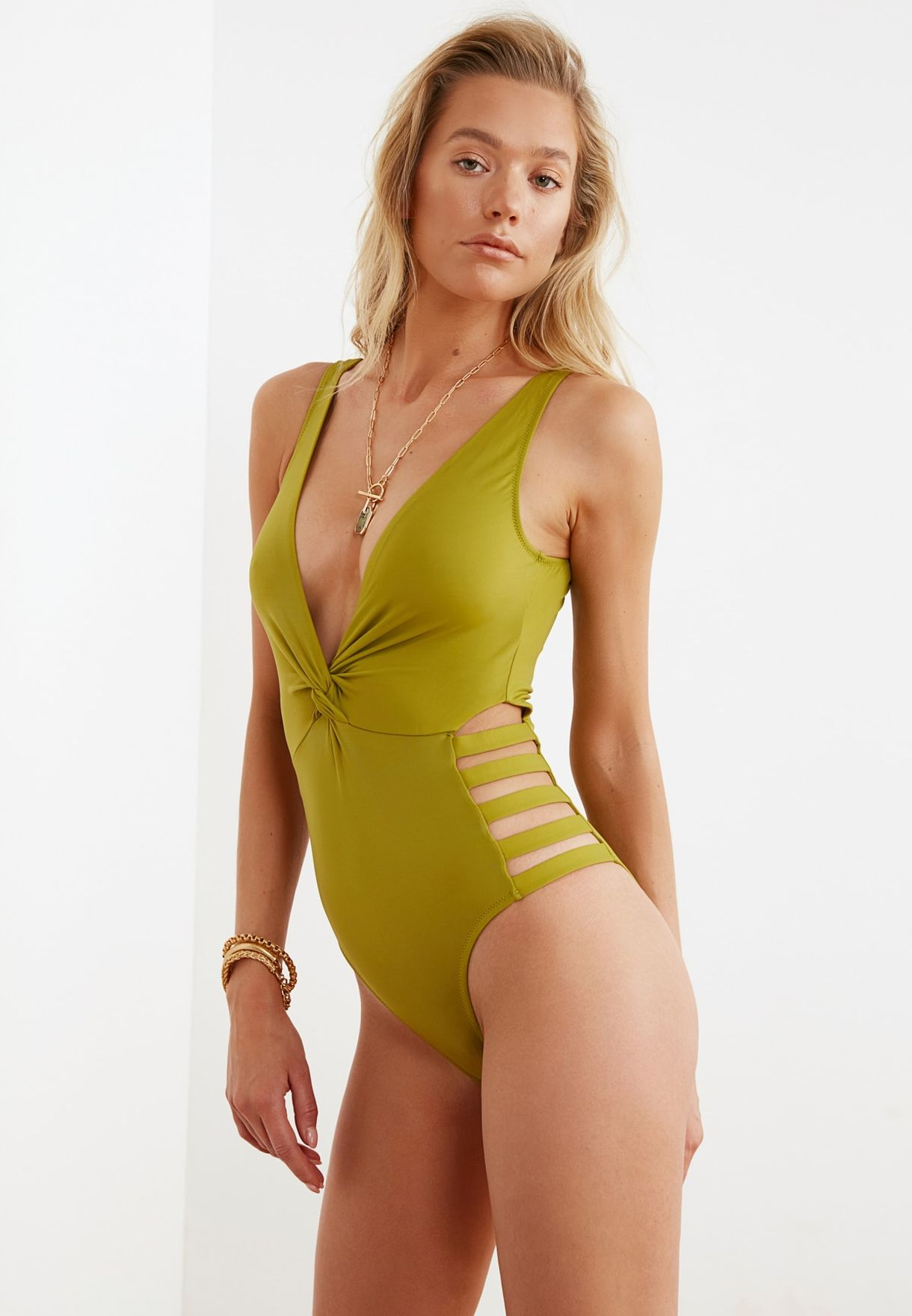 Cut Out Detail Swimsuit