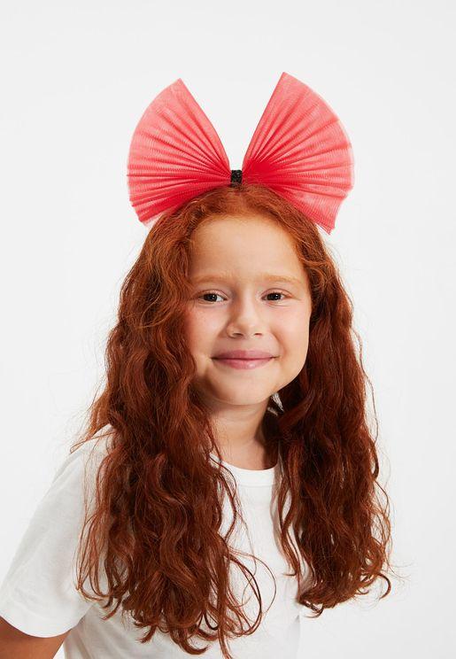 Kids Jumbo Bow Detail Headband