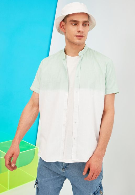 Dip Dye Regular Fit Shirt