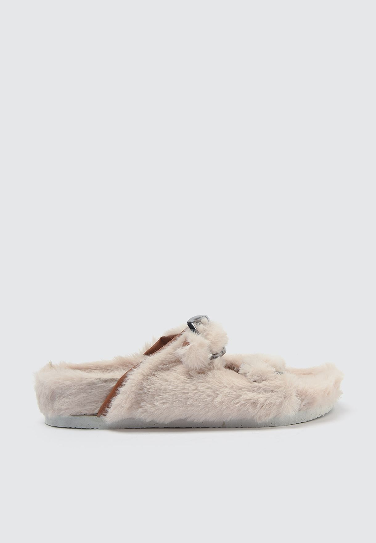 Feathered Stone Bedroom Slippers