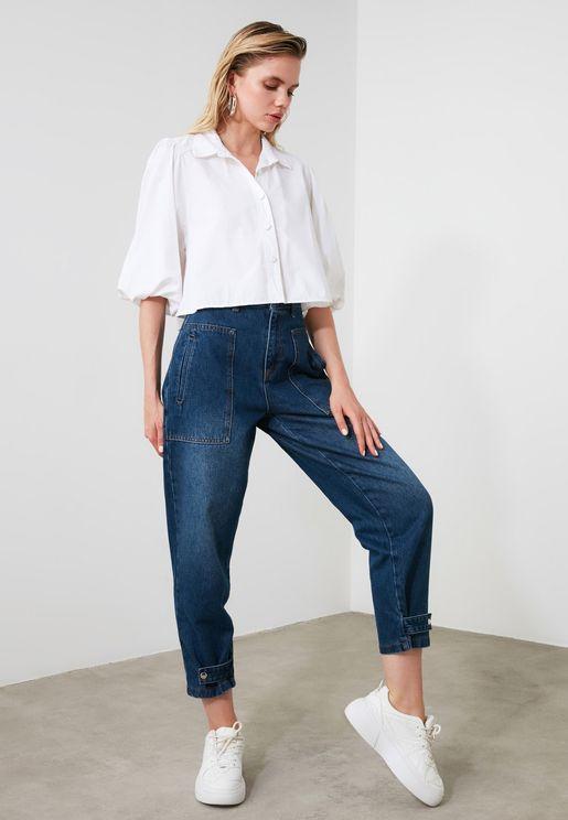 Seam Detail Jeans