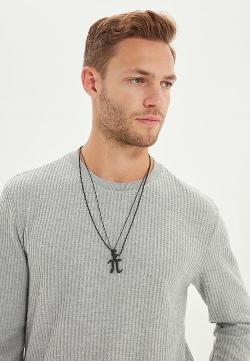 Pi Pendant Necklace
