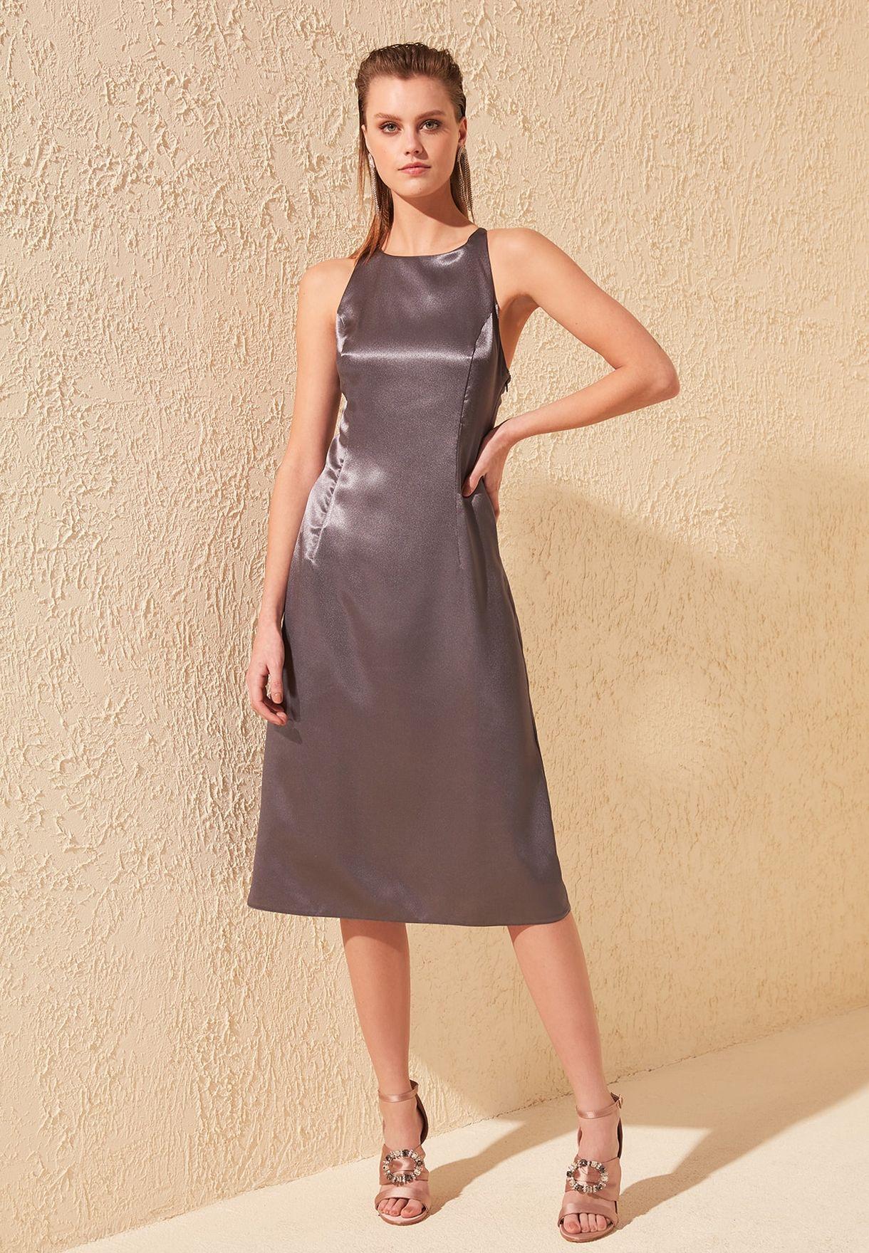 Seam Detail Shift Dress