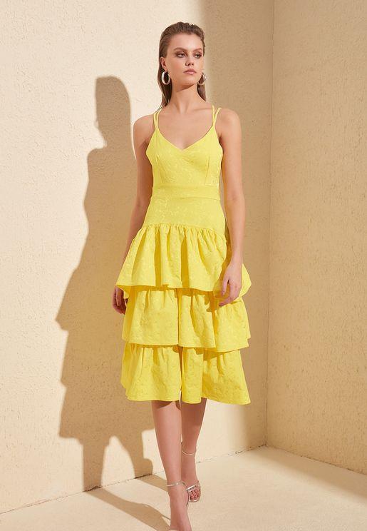 Textured Layered Dress
