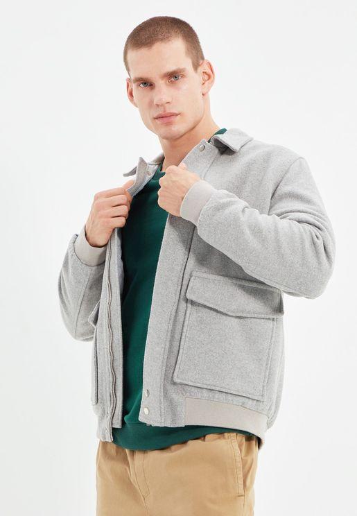Double Flap Pocket Jacket