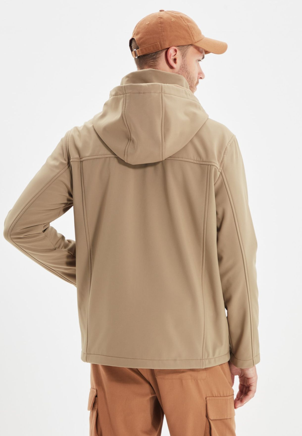 Detachable Hood Jacket