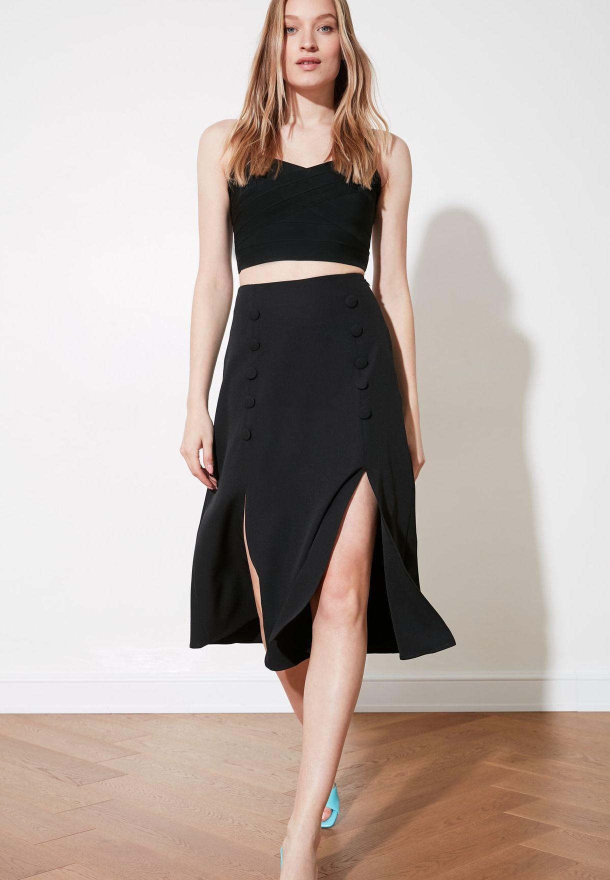 M Slit Skirt