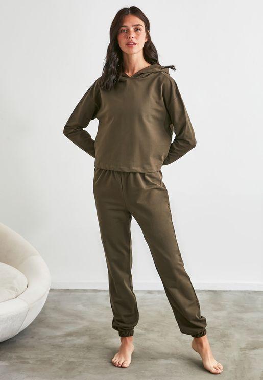 Hoodie & Pyjama Set
