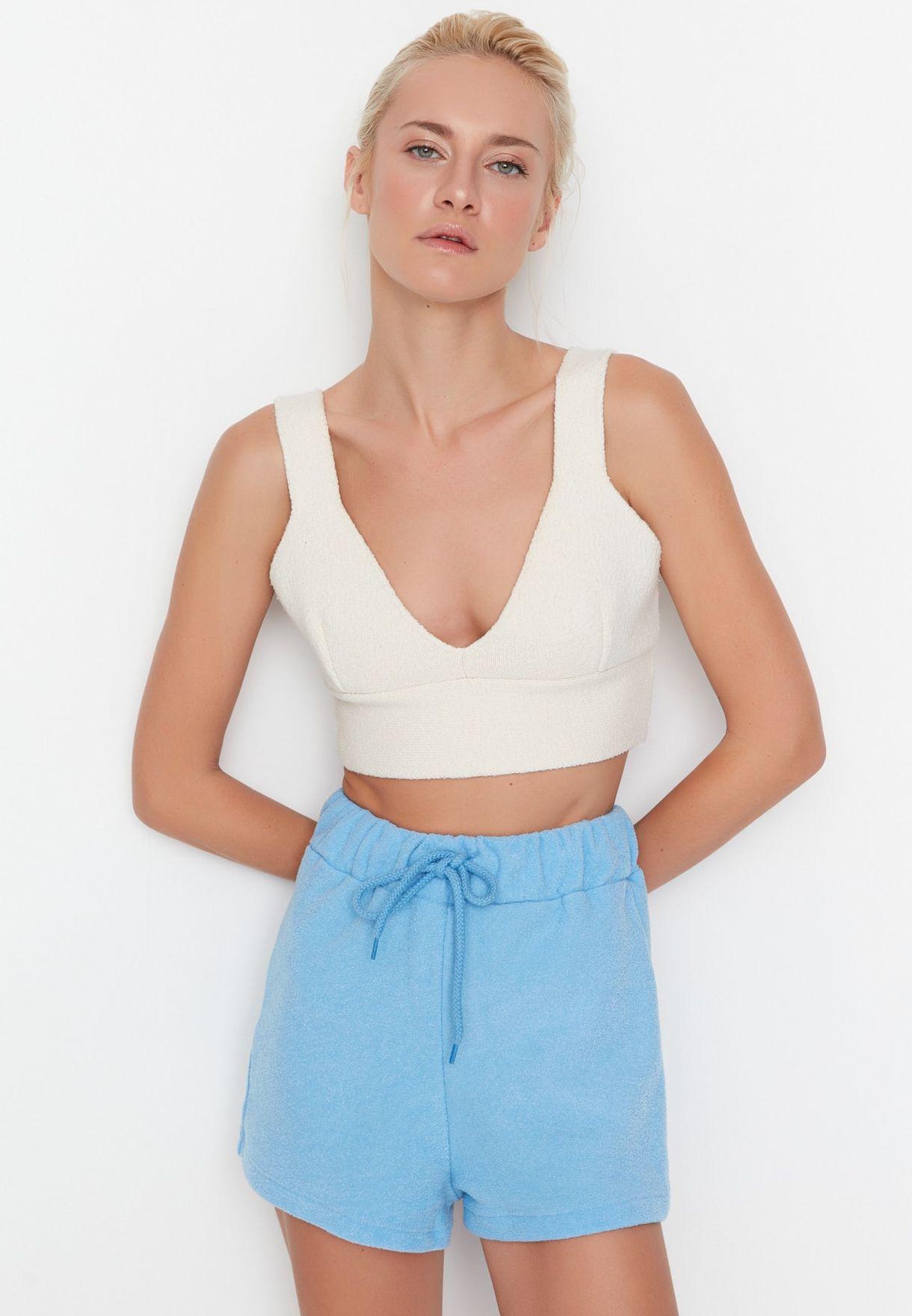 High Waist Mini Shorts