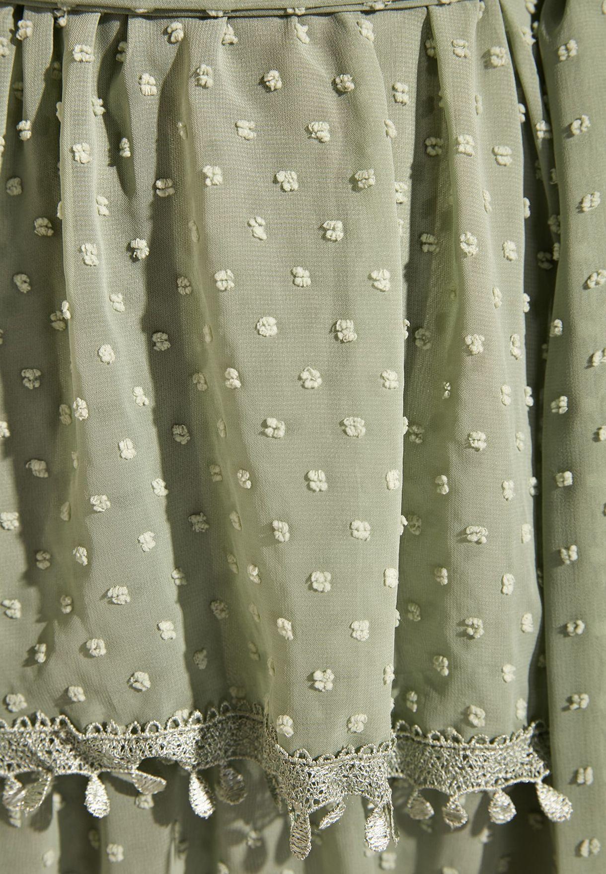 Cami Strap Layered Dress
