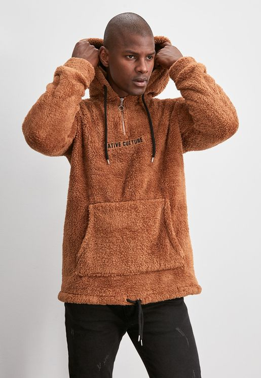 Native Culture Half Zip Hoodie