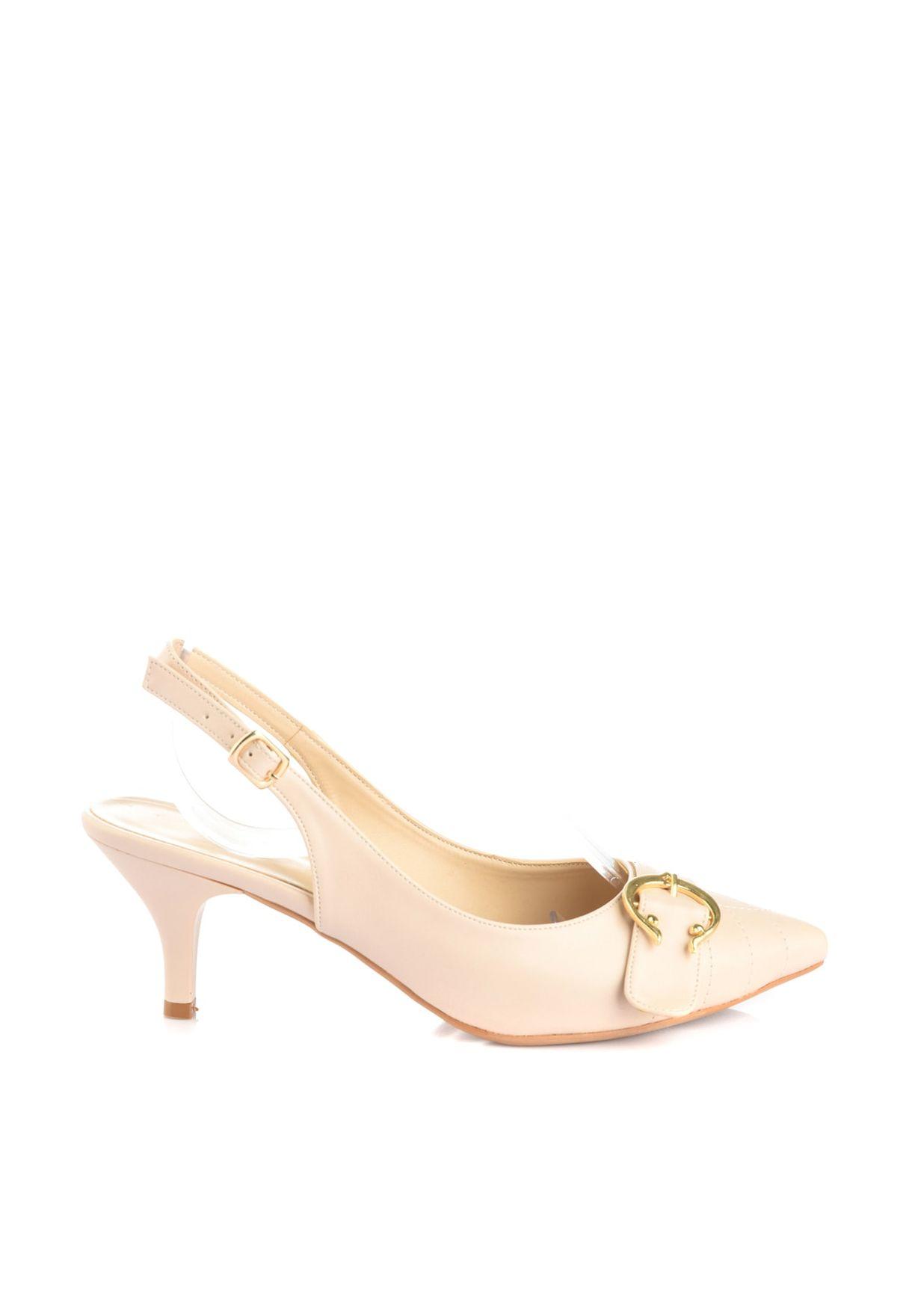 Trendyol Buckle Detail High Heel Pump - Brand Shoes