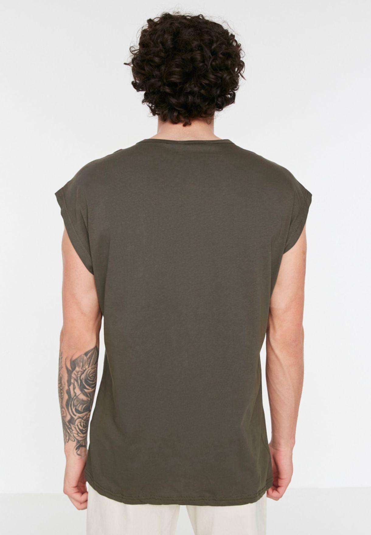 Zip Detail Pocket Vest