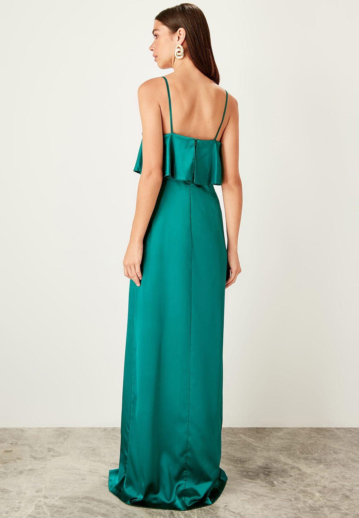 Front Split Cami Dress