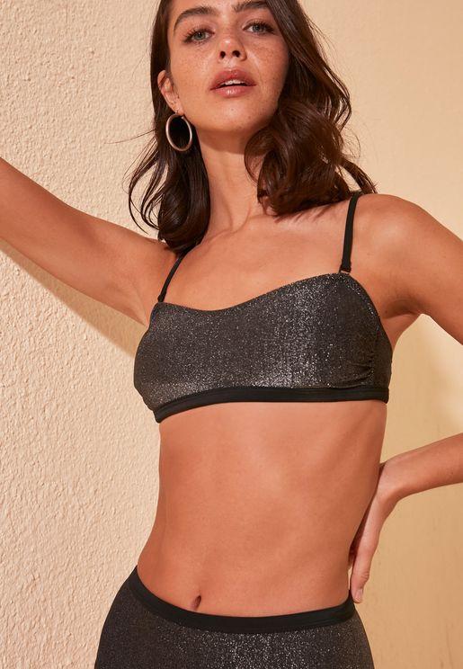 Shimmer Bikini Top