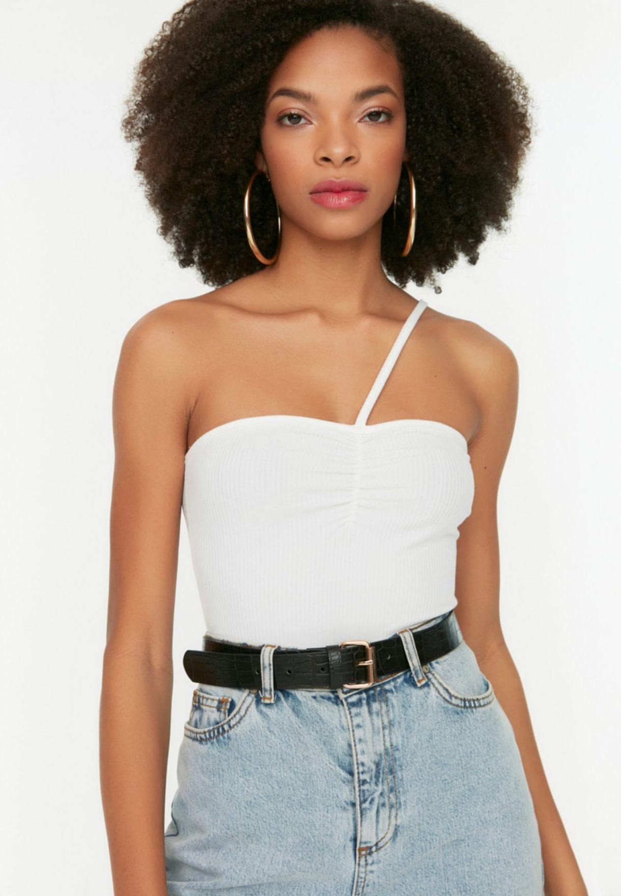 2 Pack Crocodile Textured Belt