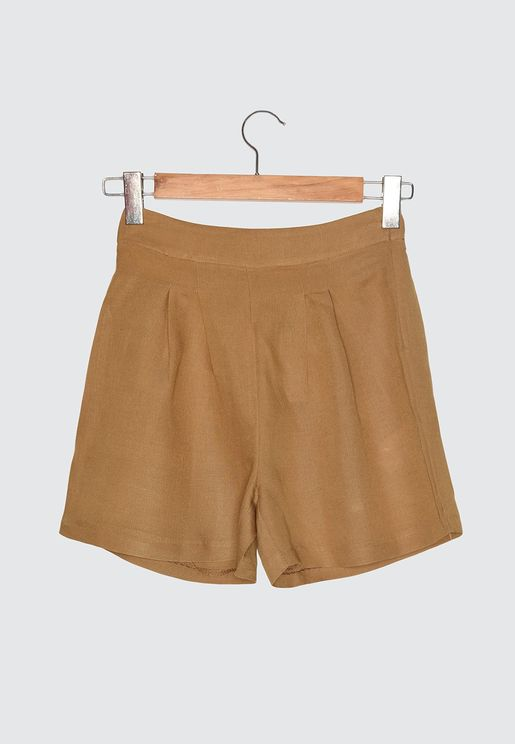 High Waist Mini Shorts