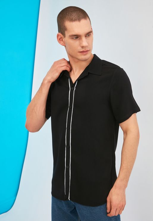 Tipped Regular Fit Shirt