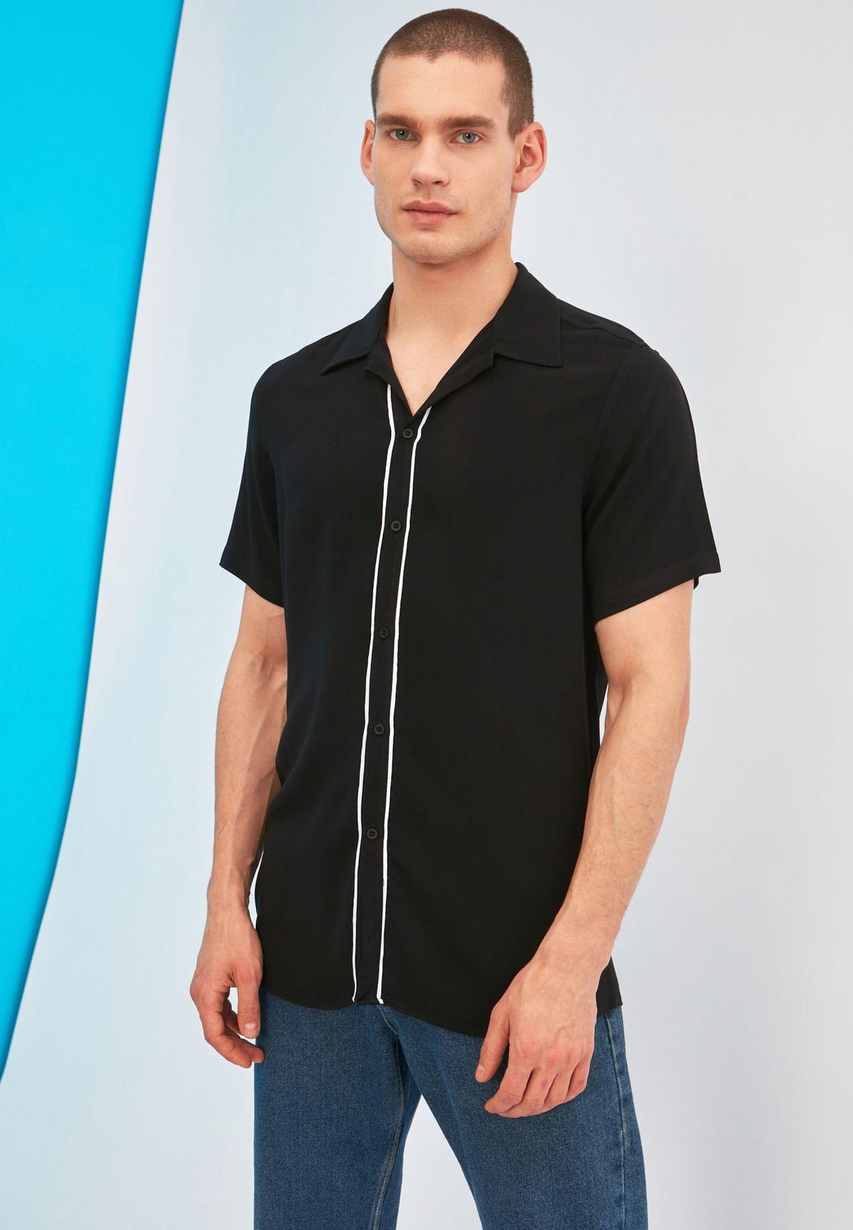 Tipped Regular Fit Shirt