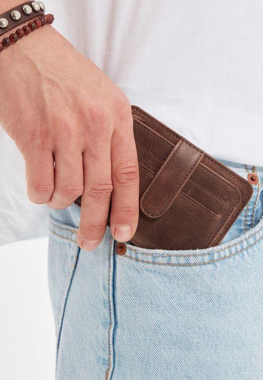 Bifold Card Holder Wallet