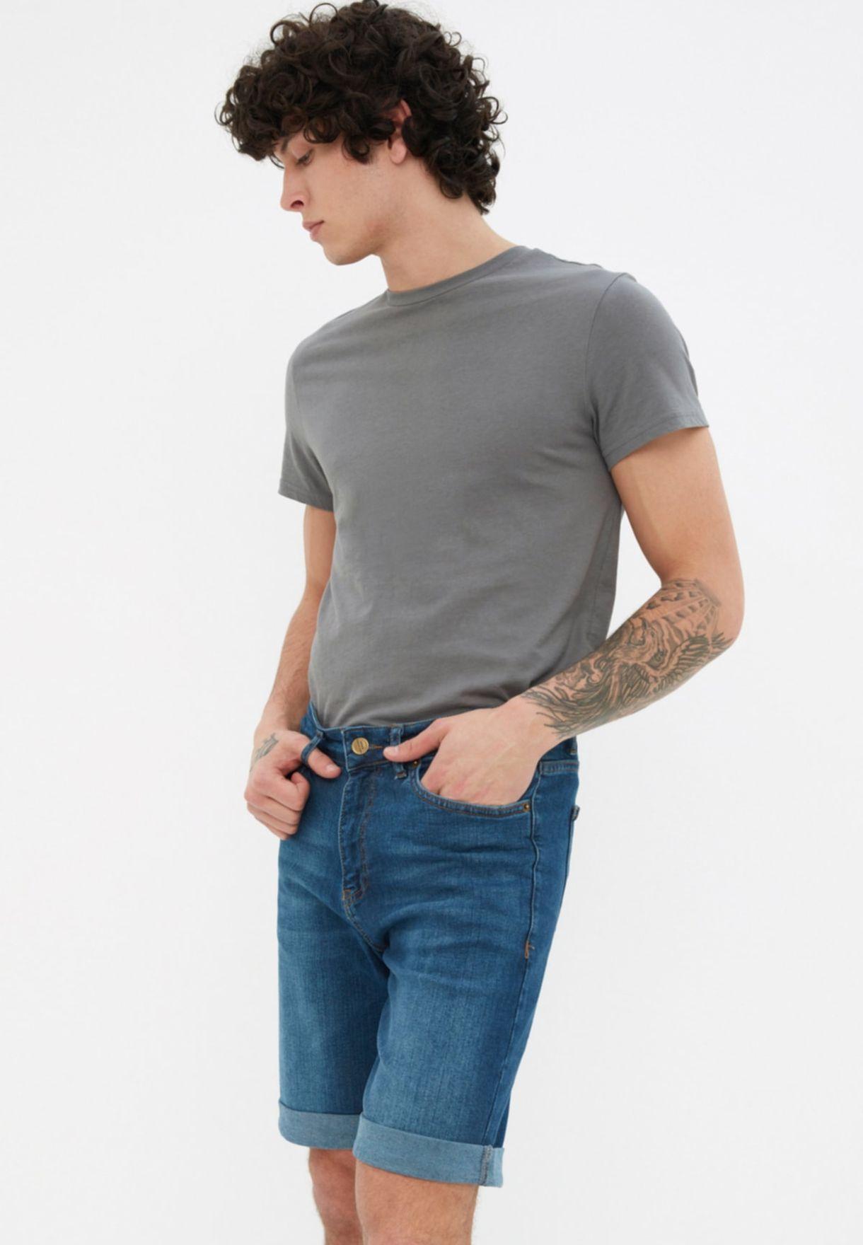 Essential Skinny Fit Shorts