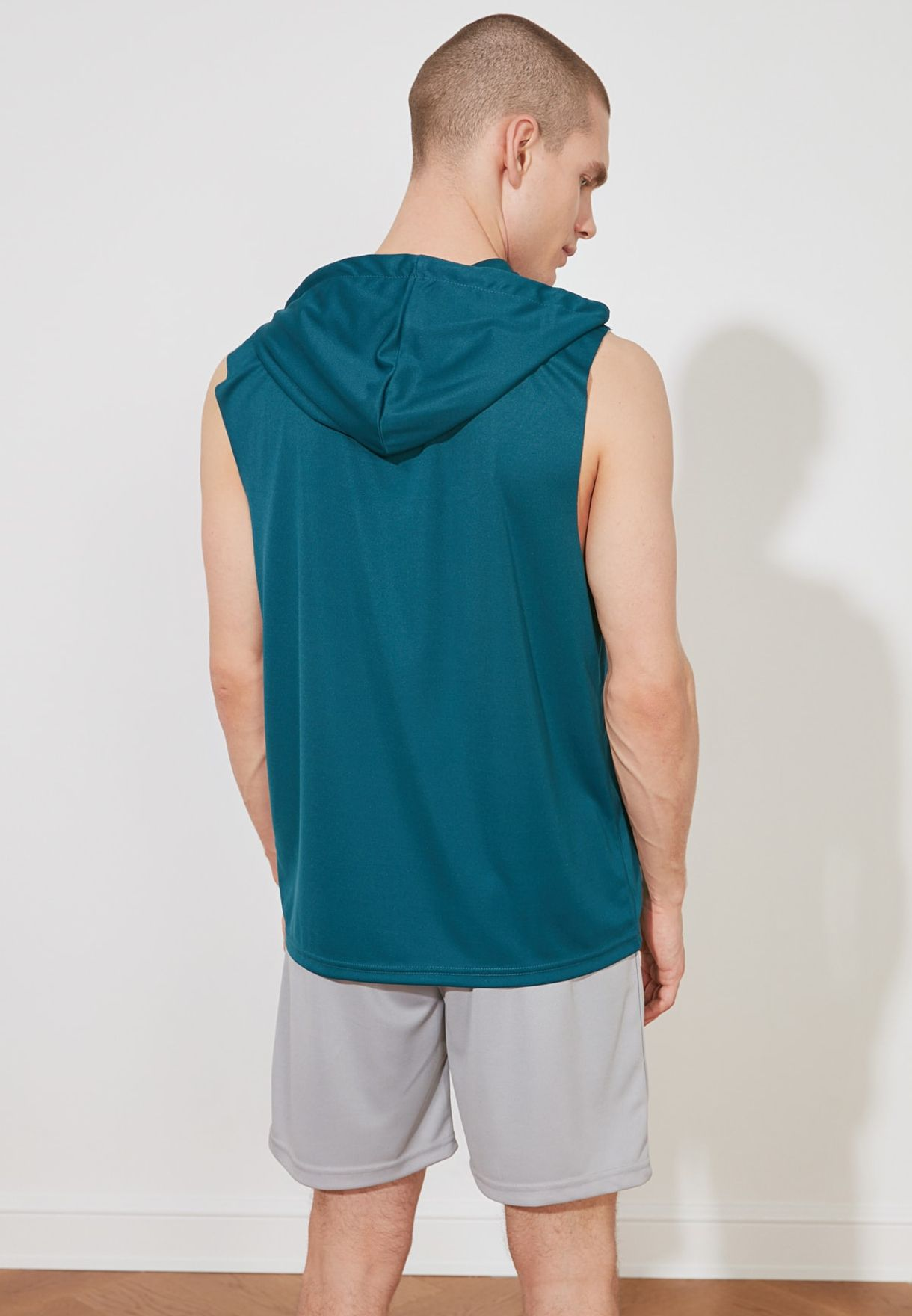 Essential Slim Fit Diving Fabric Sports Undershirt