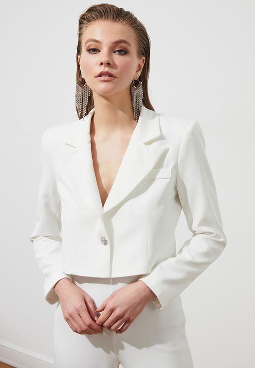 Button Detail Jacket