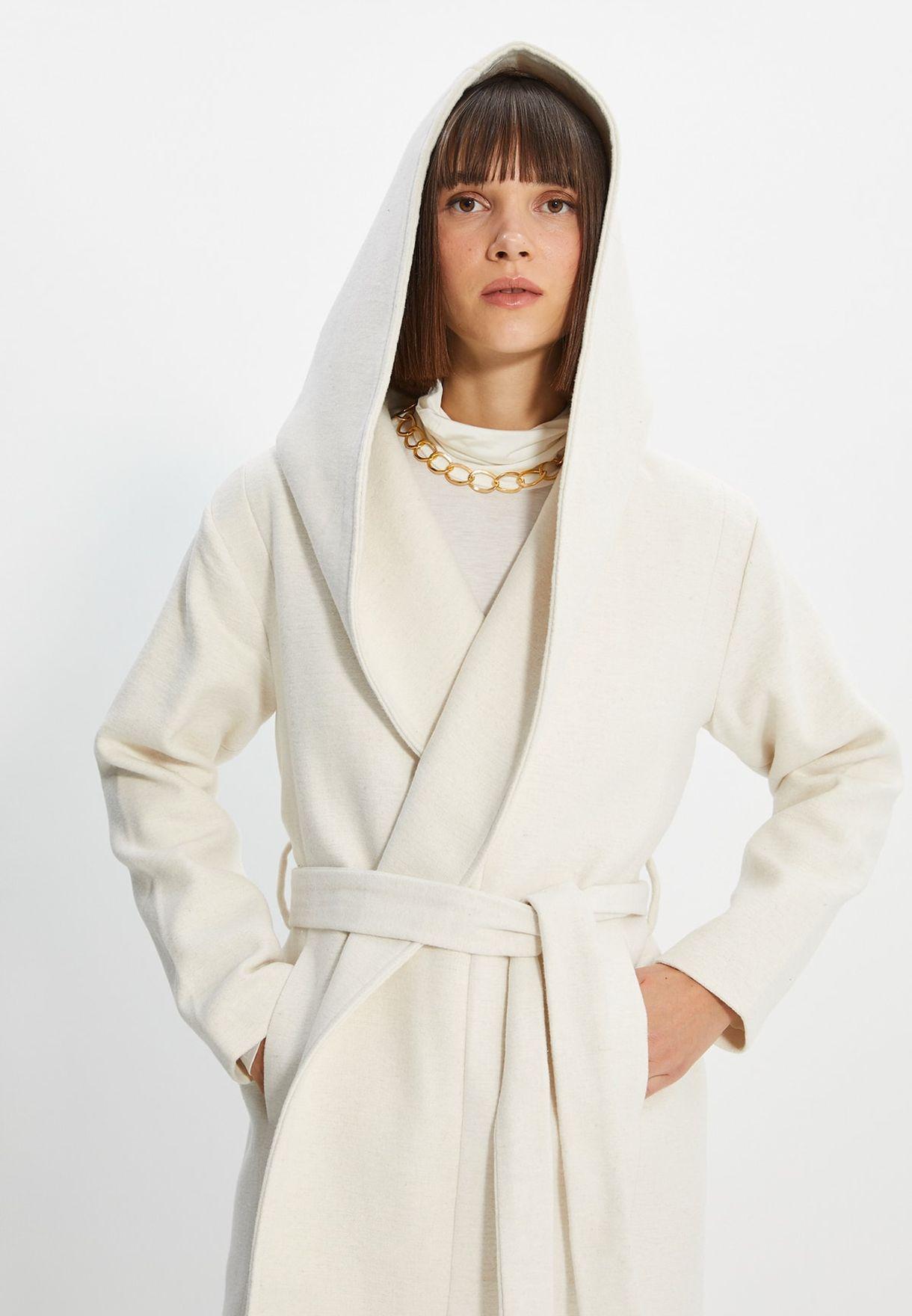 Oversized Hooded Coat