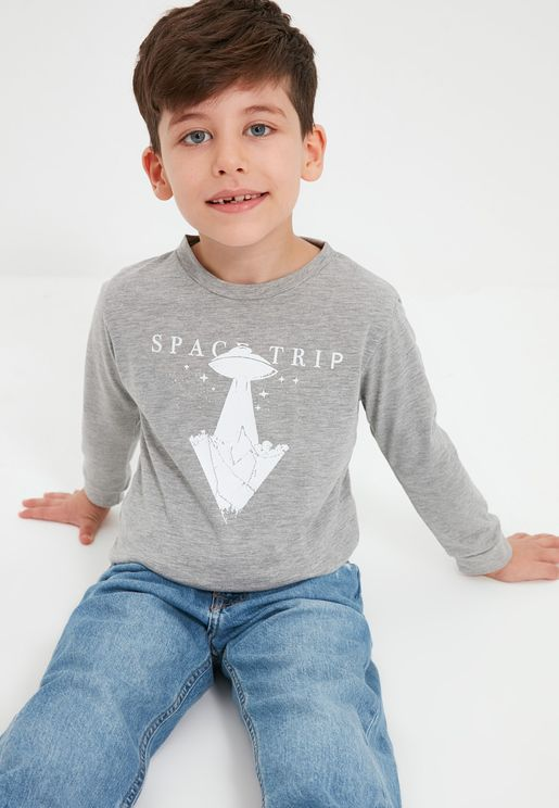 Kids Space Trip T-Shirt