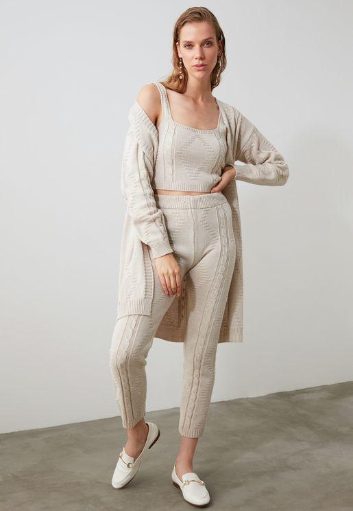 Crop Top & Pants Set