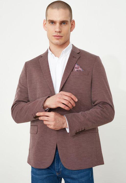Textured Blazer