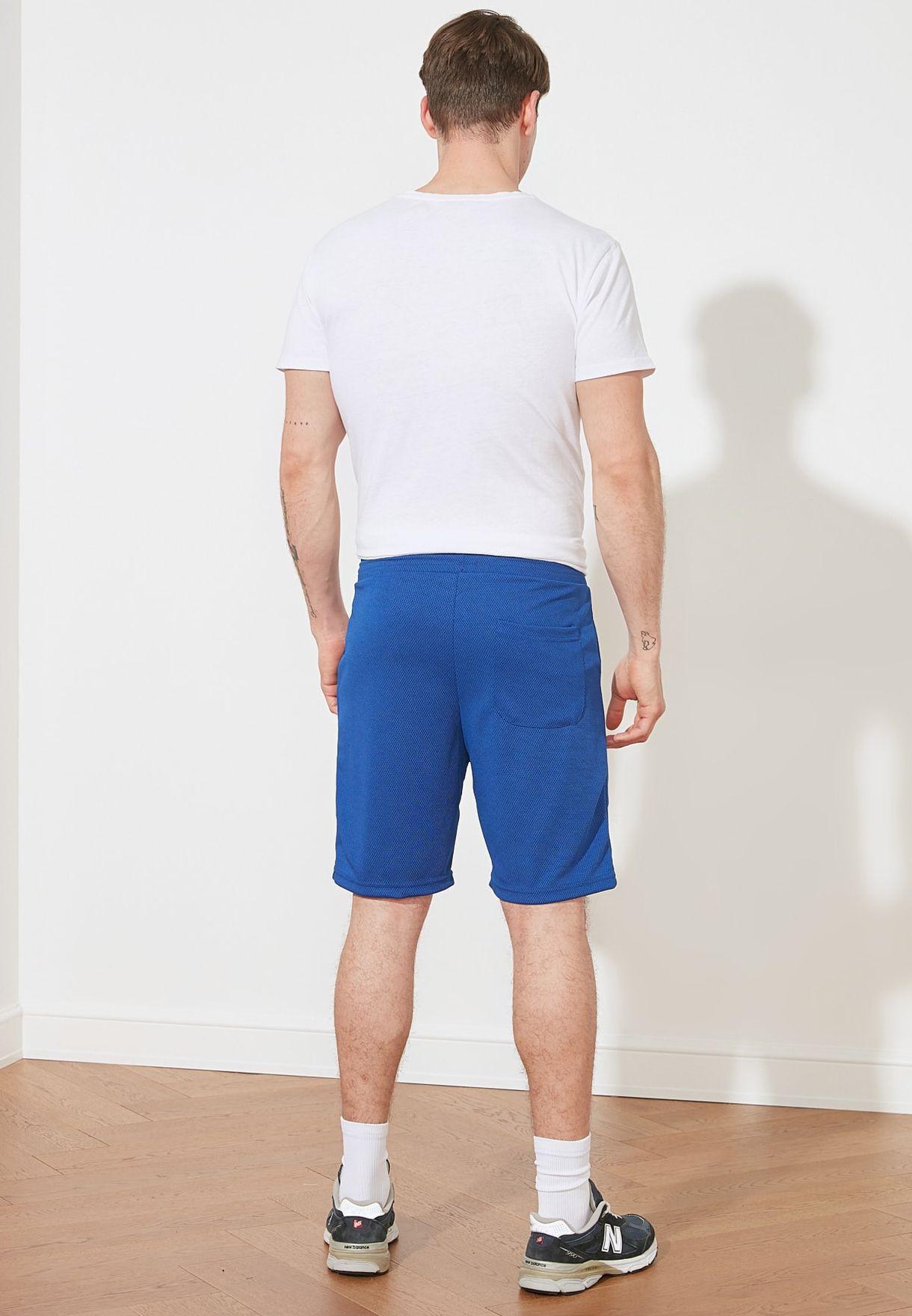 Drawstring Regular Fit Shorts