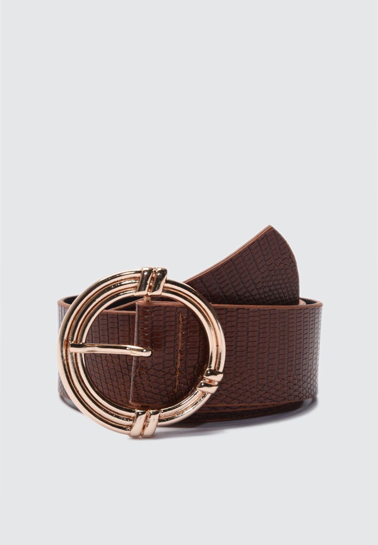 Buckle Detail Belt