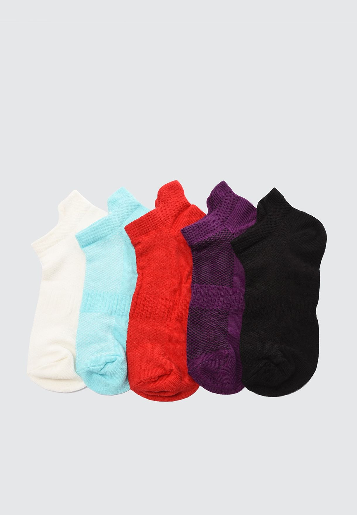 5 Pack Knitted Socks