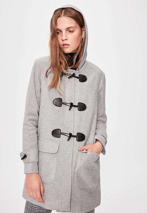 Hooded Longline Coat