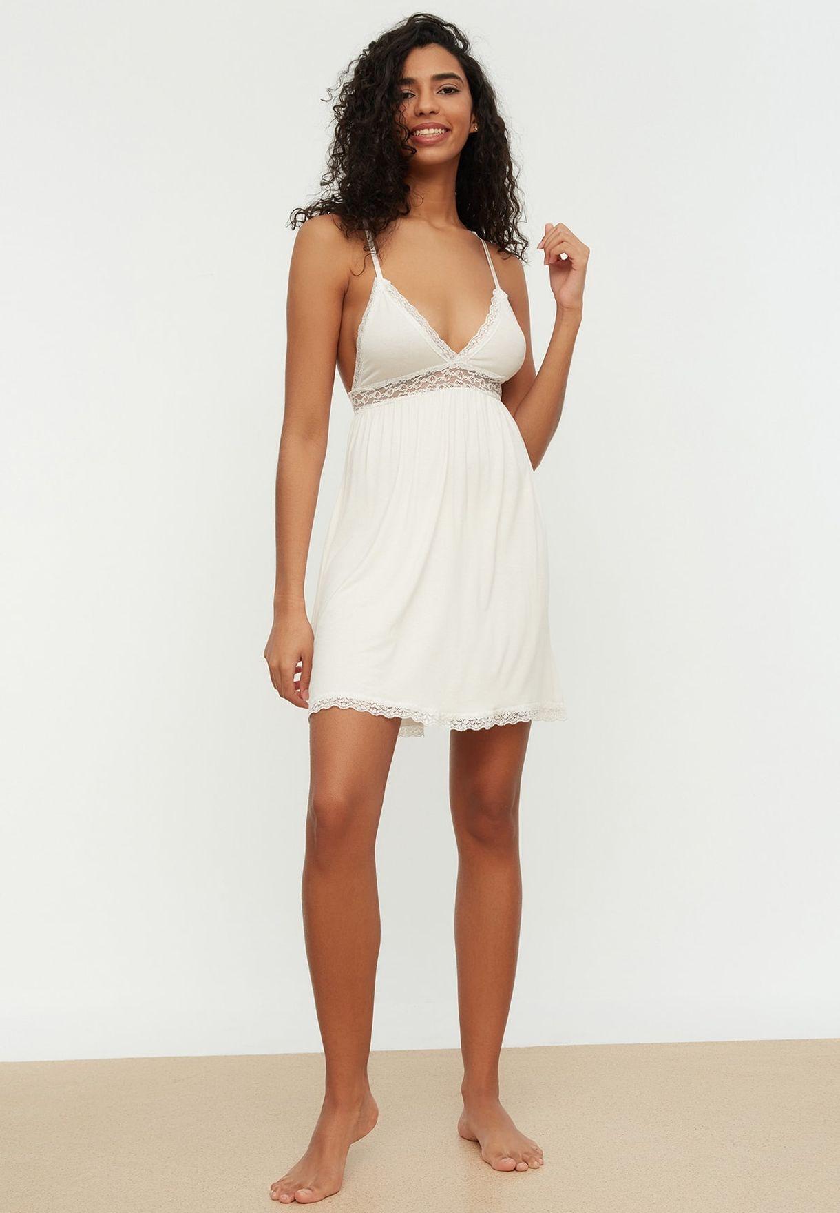 Lace Detail Nightdress