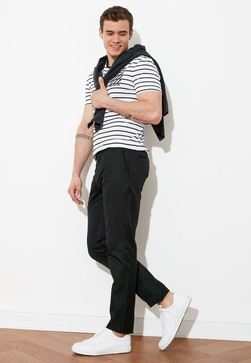Regular Fit Essential Trousers